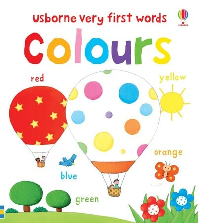 Фото Very first words colours.