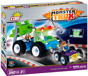 Конструктор Мусоромонстр, серия Monster Trux