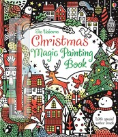 Christmas Magic Painting Book