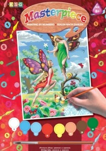 Набор для творчества PAINTING BY NUMBERS JUNIOR Fairies Sequin Art