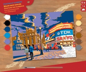 Набор для творчества PAINTING BY NUMBERS SENIOR London Piccadilly Sequin Art