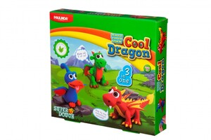Масса для лепки Super Dough Cool Dragon Драконы 3 в 1 PAULINDA