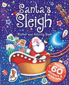 Santas Sleigh - Sticker And Activity Book