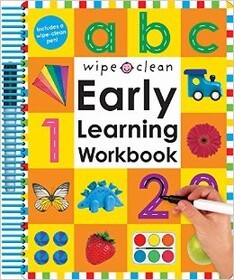 Wipe Clean Early Learning Workbook