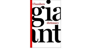 Chambers Giant Dictionary