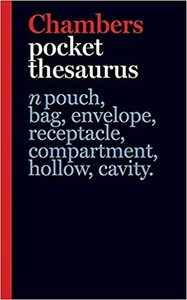 Chambers Pocket Thesaurus [Hardcover]