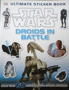 Star Wars Droids in Battle Sticker Book