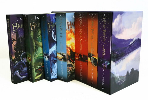 Фото The Complete Harry Potter Collection - 7-Book Box Set.
