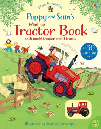 Фото Poppy and Sam's wind-up tractor book.