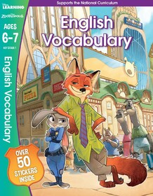 Zootropolis - English Vocabulary, Ages 6-7