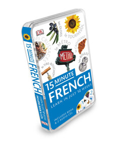 15-Minute French + CD