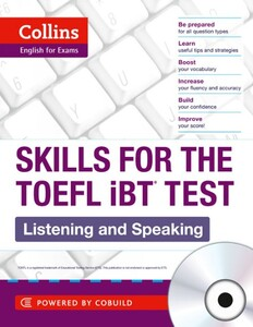 Skills for the TOEFL IBT Test Listening & Speaking with ONLINE Audio CD