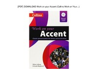 Work on Your Accent book with Audio CD & DVD