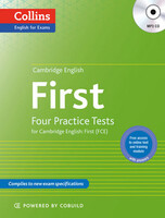 Four Practice Tests for Cambridge English with Mp3 CD: First