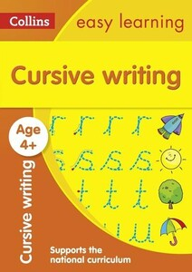 Cursive Writing Ages 4-5 - Collins Easy Learning Preschool