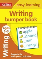 Writing Bumper Book Ages 3-5 - Collins Easy Learning Preschool