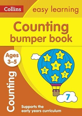 Фото Counting Bumper Book Ages 3-5 - Collins Easy Learning Preschool.