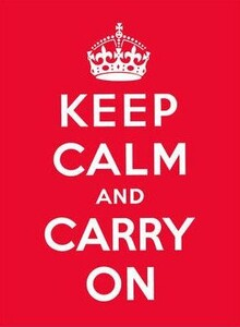Keep Calm and Carry On (9780091933661)
