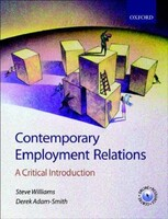 Contamporary Employment Relations: A Critical Introduction