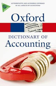 A Dictionary of Accounting - Oxford Paperback Reference