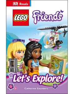 DK Reads LEGO® Friends Let's Explore!