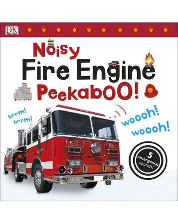 Фото Noisy Fire Engine Peekaboo!.