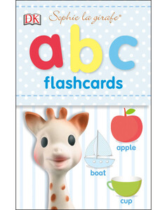 Sophie la Girafe ABC Flashcards