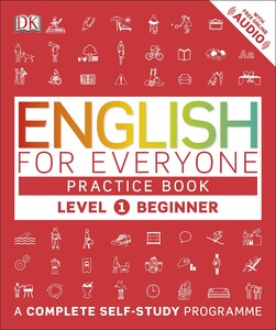 English for Everyone 1 Beginner Practice Book: A Complete Self-Study Programme (9780241243510)