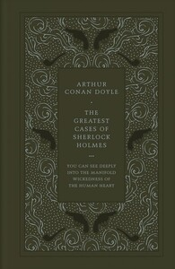 Faux Leather Edition:The Greatest Cases of Sherlock Holmes [Hardcover] (9780241256657)