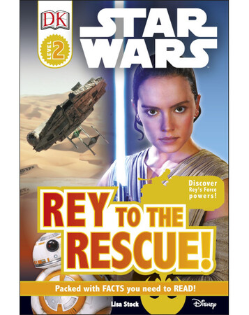 Фото DK Reader: Star Wars Rey to the Rescue! [Level 2].