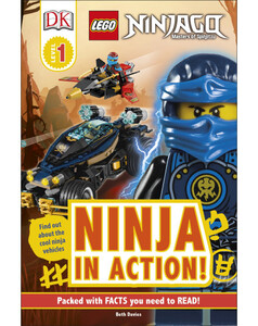DK Reader LEGO NINJAGO Ninja in Action! [Level 1]