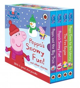 Peppa's Snowy Fun! and Other Stories. Box Set [Ladybird]