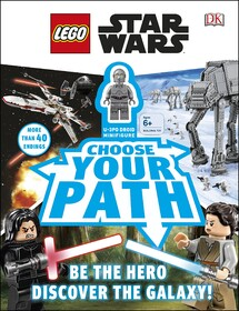 LEGO Star Wars Choose Your Path: With Minifigure [Hardcover]