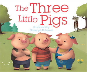The Three Little Pigs fairy tale