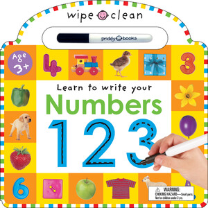 Wipe Clean: Numbers