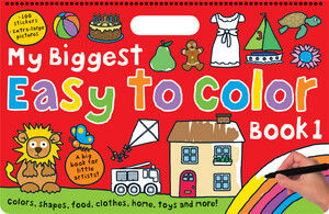 My Biggest Easy to Color Book 1