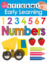 Sticker Early Learning: Numbers