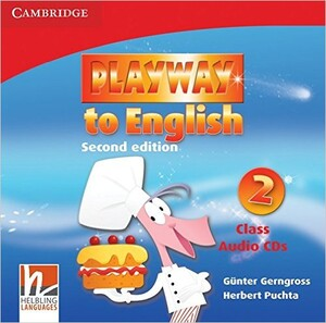 Playway to English 2nd Edition 2 Class Audio CDs (3)
