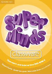 Super Minds 5 Classware CD-ROM (1) and Interactive DVD-ROM (1)