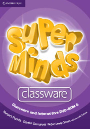 Super Minds 6 Classware CD-ROM (1) and Interactive DVD-ROM (1)