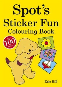 Spots Sticker Fun Colouring Book