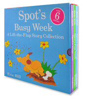Spot's Busy Week Lift the Flap Slipcase