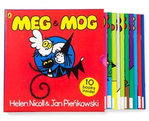 Meg & Mog 10 Book Collection