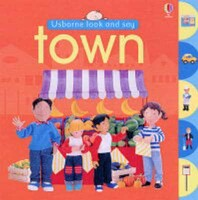 Town - Usborne Look and Say