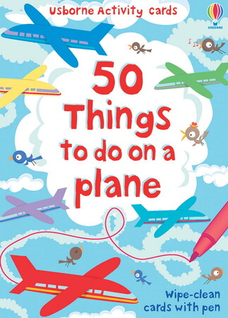 Фото 50 things to do on a plane.