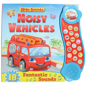 Noisy Vehicles - Sound Book