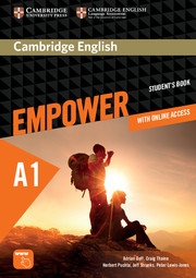 Фото Cambridge English Empower A1 Starter SB with Online Assessment and Practice, and Online WB (97811074.