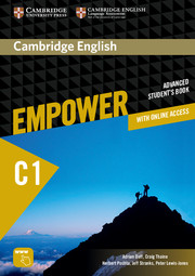 Cambridge English Empower C1 Advanced SB with Online Assessment and Practice, and Online WB (9781107469099)