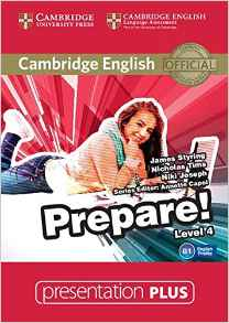 Фото Cambridge English Prepare! Level 4 Presentation Plus DVD-ROM.