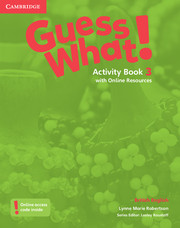 Guess What! Level 3 Activity Book with Online Resources (9781107528031)